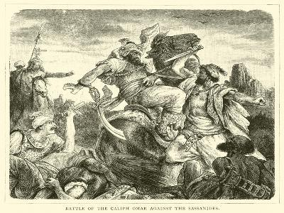 Battle of the Caliph Omar Against the Sassanides