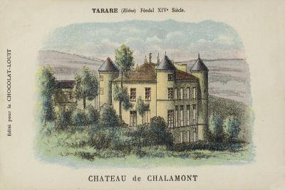 Chateau De Chalamont, Tarare, Rhone