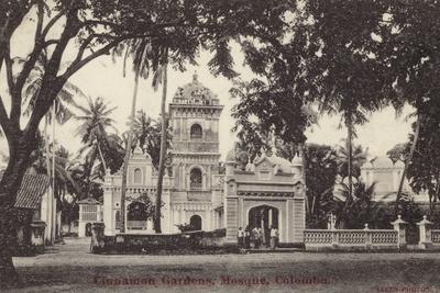 The Mosque in Cinnamon Gardens