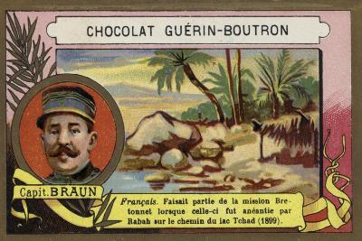 Solomon Braun, French Soldier and Explorer