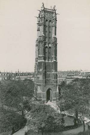 La Tour Saint-Jacques, Saint-Jacques Tower