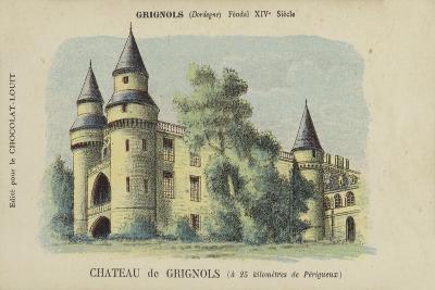 Chateau De Grignols, Grignols, Dordogne