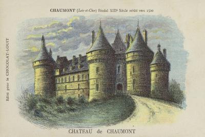 Chateau De Chaumont, Chaumont, Loir-Et-Cher