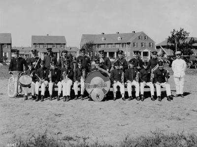 Westinghouse Band at a Company Picnic, 1919
