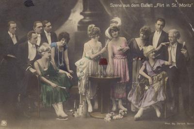 Scene from the Ballet 'Flirting in St Moritz'