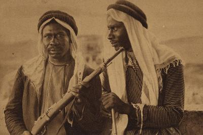 Two African Men with Guns
