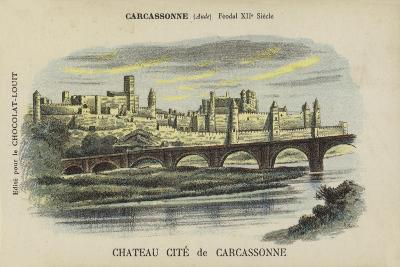Chateau Cite De Carcassonne, Carcassonne, Aude