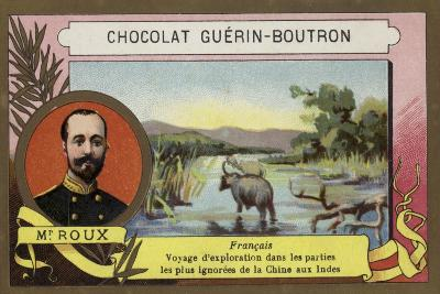 Mr Roux, French Explorer