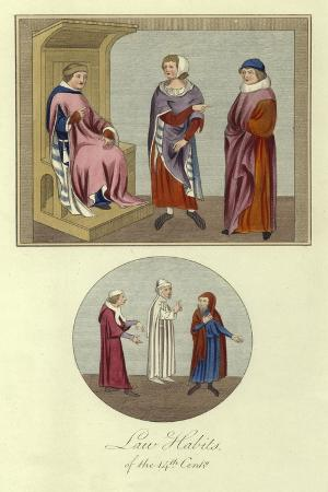 Law Habits of the 14th Century