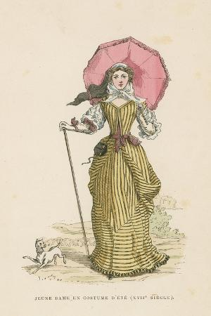 Young Woman in Summer Dress, 17th Century