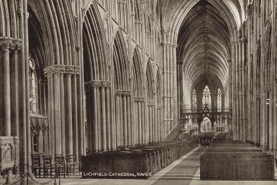 Nave of Lichfield Cathedral, Staffordshire