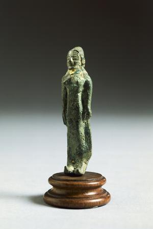 Kore in Bronze, from Fonte Veneziana, Arezzo