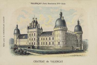 Chateau De Valencay, Valencay, Indre