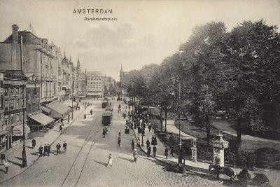 Postcard Depicting Rembrandtplein