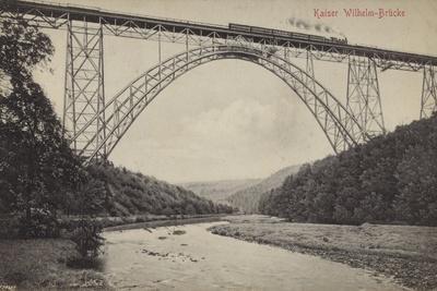 Postcard Depicting the Kaiser Wilhelm Bridge