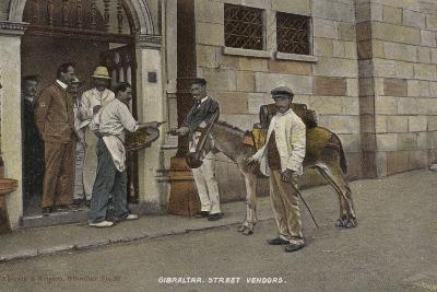 Street Vendors, Gibraltar