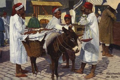 Fruit Seller, Tangier