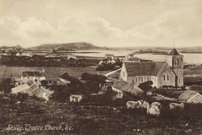 Scilly, Tresco Church, and C