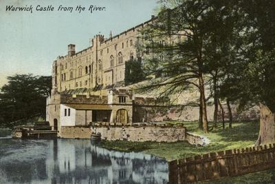 Warwick Castle from the River Avon