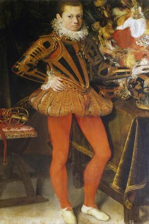 Portrait of Ranuccio I Farnese