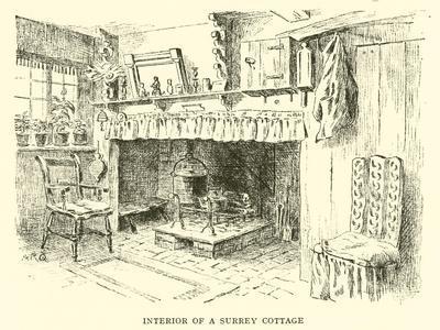 Interior of a Surrey Cottage