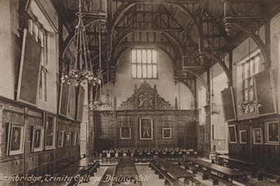 Trinity College, Dining Hall, Cambridge
