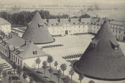 Le Creusot, Chateau De La Verrerie