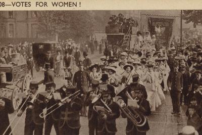 Suffragette March, 1908