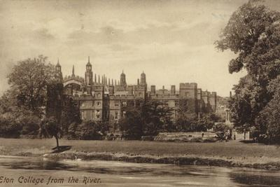 Eton College from the River