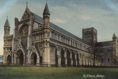 St Albans Abbey in St Albans