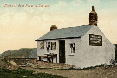 First and Last House in England