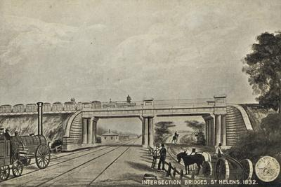 Intersection Bridges, St Helens, 1832