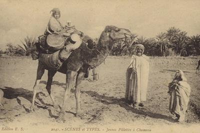 Scenes and Types - Young Girls with a Camel