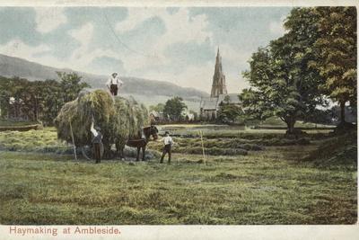 Haymaking at Ambleside, Lake District