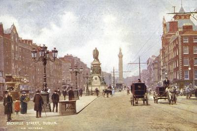Sackville Street, Dublin, Via Holyhead
