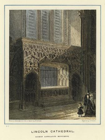 Lincoln Cathedral, Bishop Longland's Monument