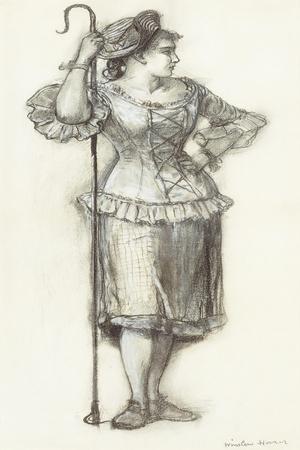 The Shepherdess, 1878