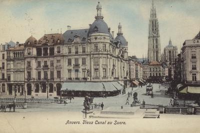Postcard Depicting the Vieux Canal Au Sucre
