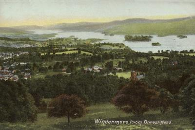 Windermere from Orrest Head, Lake District