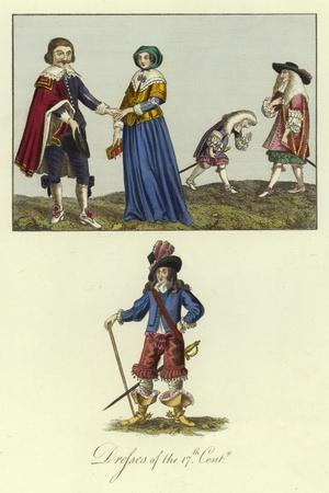 Dresses of the 17th Century