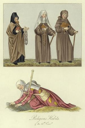 Religious Habits of the 15th Century
