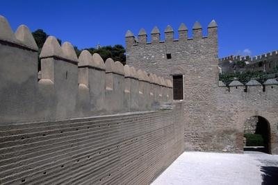 A View of the Alcazaba of Almeria, Andalucia, Spain