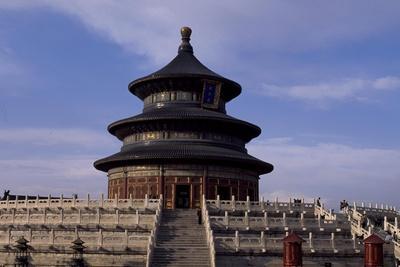 Temple of Heaven or Tian Tan, Beijing, China
