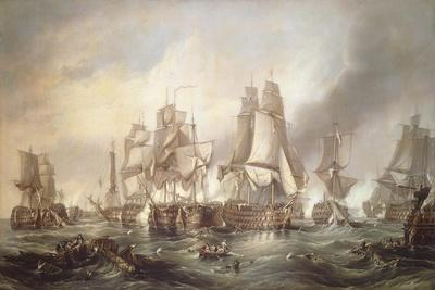 Battle of Trafalgar, October 21, 1805, Spain