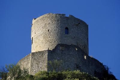 Keep of Chateau De La Roche-Guyon, Ile-De-France, France, 13th Century