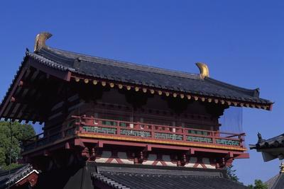 Shitennoji Temple in Osaka, Japan, 7th Century
