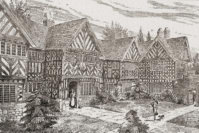 16th Century Kenyon Peel Hall, Near Tyldesley, Manchester, England