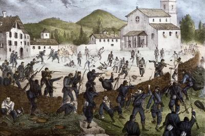 Battle of San Fermo at Como, May 27, 1859, Second War of Independence, Italy 19th Century