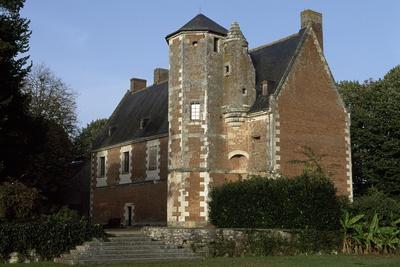 View of Chateau De Plessis-Les-Tours, in La Riche, France