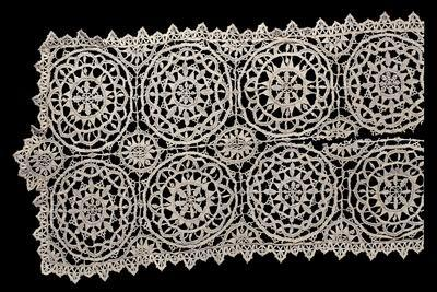 Detail from Lace Decorated with Rosettes, Beginning of 1600s